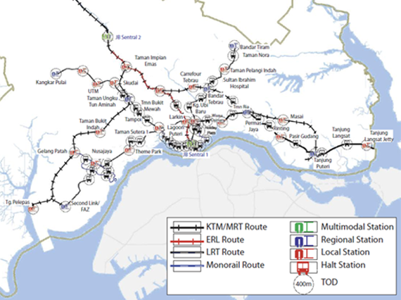 MRT proposed for Iskandar Malaysia