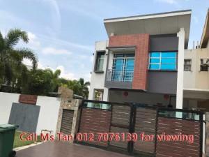 Setia Tropika, JB Corner House for Sale, Jalan Setia Tropika, jb johor